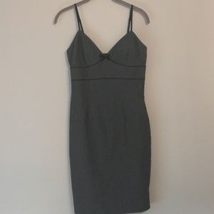 EXPRESS STRETCH GRAY DRESS